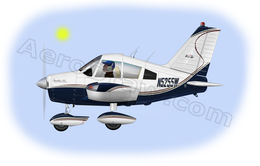 Piper Cherokee 160 illustration