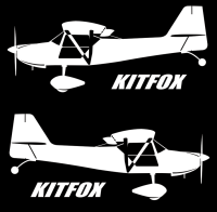 Kitfox Aircraft Sticker